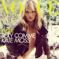 Kate Moss en Vogue París