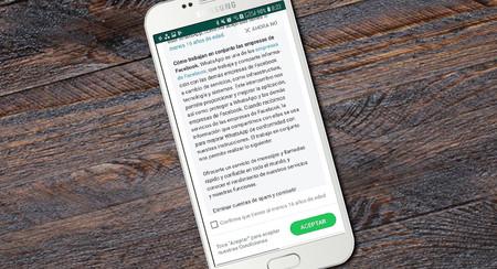 WhatsApp ya te pide confirmar que tienes más de 16 años para seguir usándolo