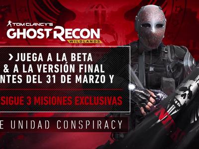 Se vuelve a confirmar la beta abierta de Tom Clancy's Ghost Recon Wildlands, esta vez con un tráiler y fecha de inicio