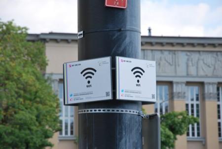 Free Wifi Zone Dabrowskiego Square In Lodz
