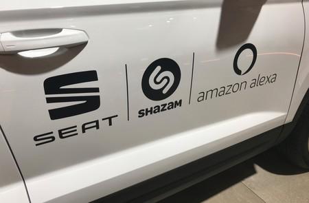 Seat Alexa Shazam
