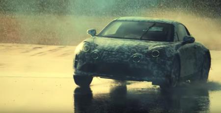 Alpine nos emociona con un video para promocionar su regreso, el A120 parece prometer