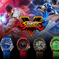 Seiko y Capcom se alían para crear una tirada limitada de relojes de 400 euros sobre Street Fighter V