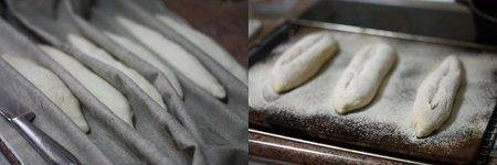 Pan para bocadillos. Pasos 2