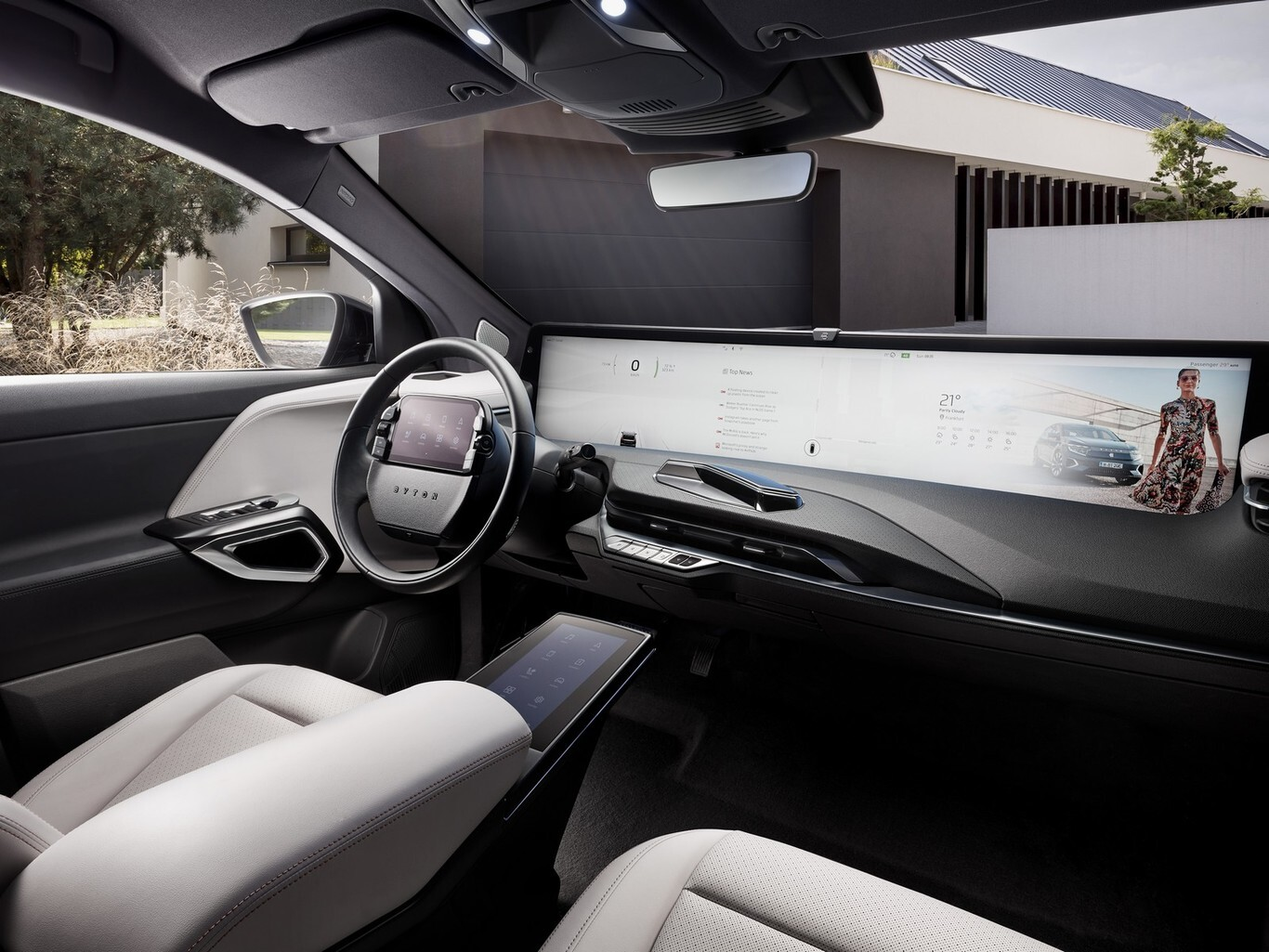 The Chinese electric SUV Byton M-Byte breathes again thanks to the manufacturer of the iPhone