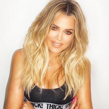 Khloé Kardashian confirma por fin su embarazo con una foto y un mensaje muy dulces en Instagram