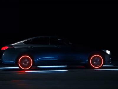 Este vídeo del sistema HTRAC de Hyundai tiene los efectos de iluminación LED que querías ver hoy