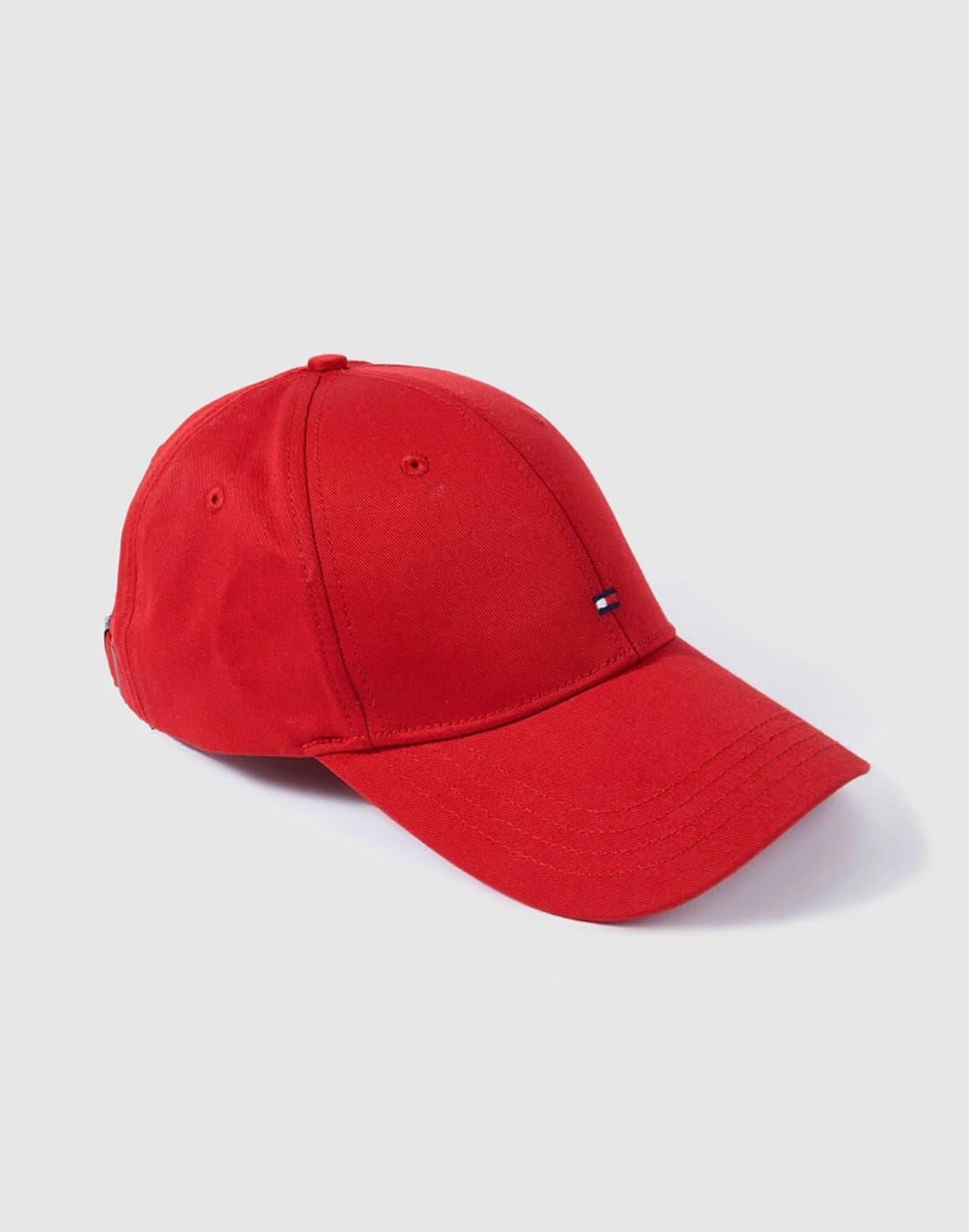 Gorra roja de Tommy Hilfiger