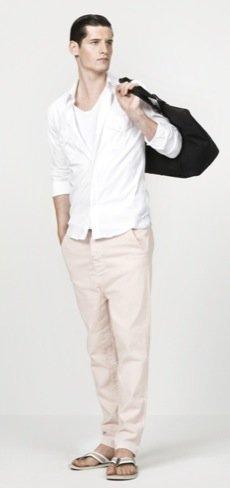 Zara propone nuevos looks para el hombre de cara al Verano 2010 I