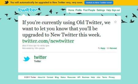 Twitter eliminará su antiguo diseño a lo largo de esta semana