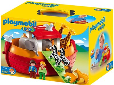 Playmobil 1.2.3 - Arca de Noé por 29,90 euros. Mejor oferta comprobada.