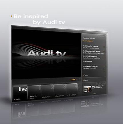 Audi TV, ahora online