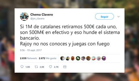 No, los independentistas catalanes no pueden tirar abajo el sistema financiero español
