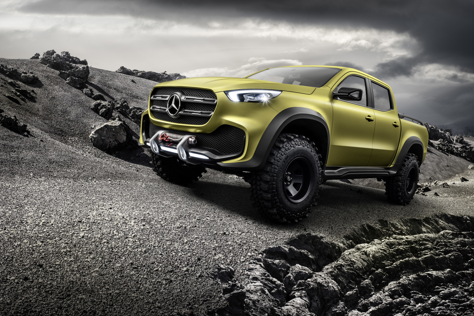 Foto de Mercedes-Benz Concept Clase X (25/31)