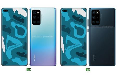 Nuevos renders muestran los Huawei P40 y Huawei P40 Pro en todo su esplendor
