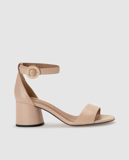 Sandala A De Taca3n De Mujer Emporio Armani Natural