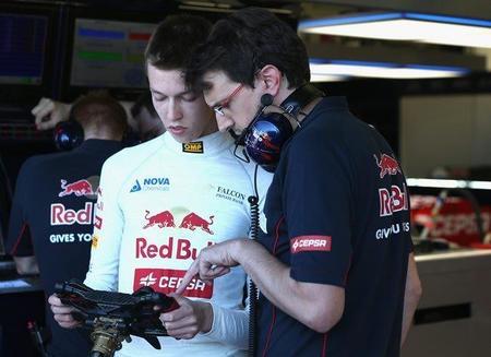 Red Bull prueba componentes de 2014 en pista