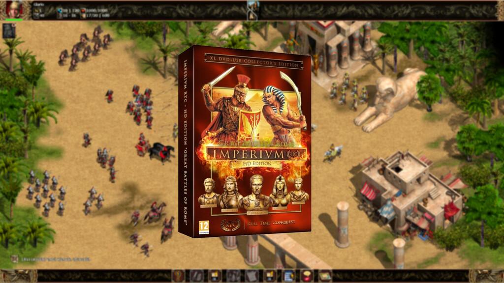 'Imperivm' está de vuelta: el mítico juego de FX Interactive busca renacer en HD y ofrecer batallas gigantescas