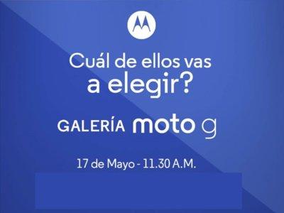 Sí, el 17 de mayo conoceremos más de un Moto G