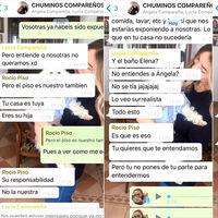 El culebrón de WhatsApp de Elena Cañizares: que te intenten echar del piso compartido por tener Covid