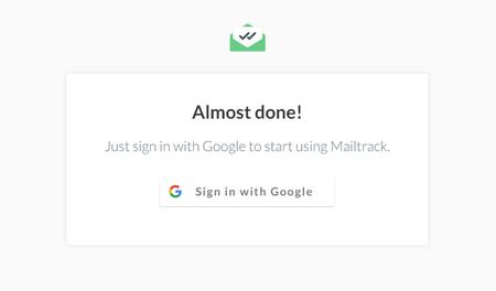 Iniciar Sesion Con Google Mailtrack