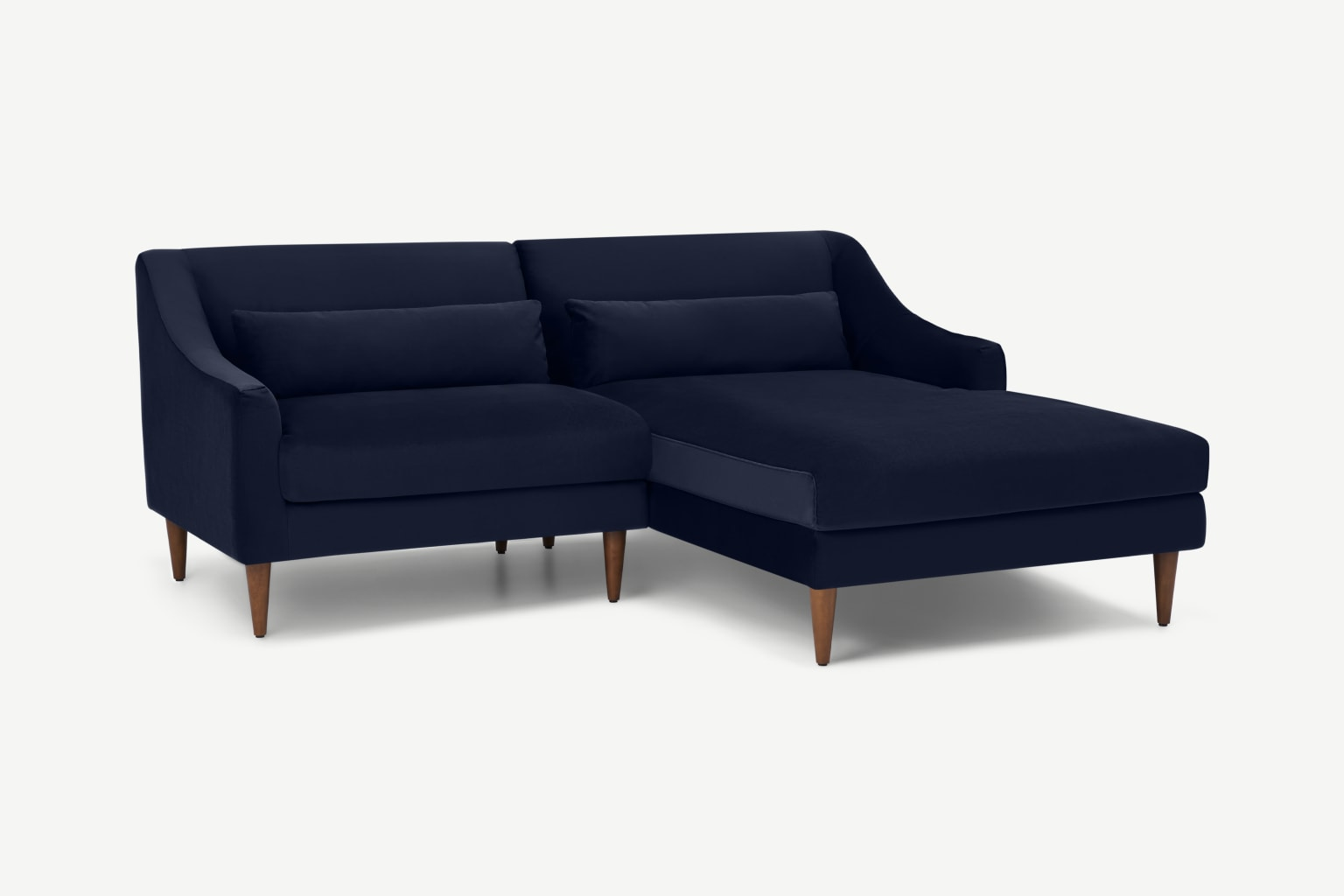 Sofá compacto con chaise longue