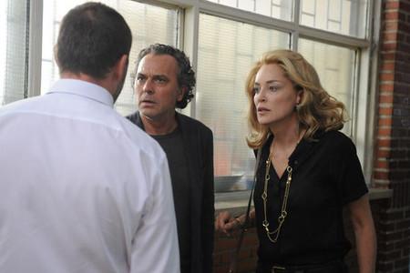 Sharon Stone enamorada de José Coronado, la imagen de la semana