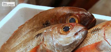¿Cómo se trata el pescado para que llegue a casa sin congelarlo?