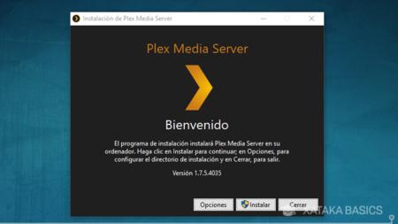 Instalar Plex Media Server