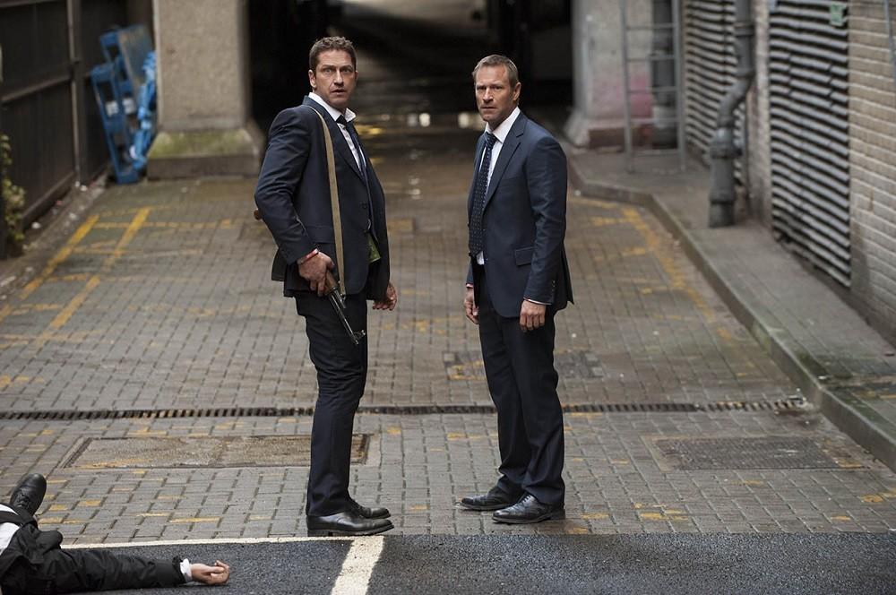Gerard Butler Y Aaron Eckhart En Objetivo Londres