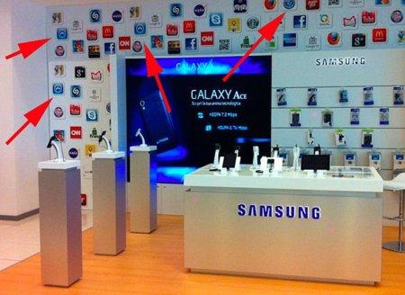 Samsung copia a Apple