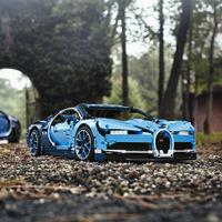 Bugatti pone a tu alcance una versión más económica de su Chiron… fabricada por Lego