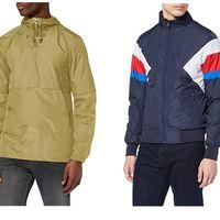 Chollos en talla sueltas de cortavientos y chaquetas para hombre en Amazon: marcas como Asics, Benetton o Inside al mejor precio