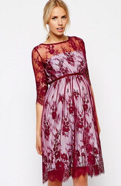 58fafa5e0 Moda embarazadas  vestidos para una boda de otoño