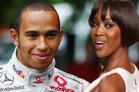 Naomi Campbell y Lewis Hamilton, ¿son pareja?
