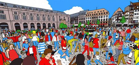 Te retamos a que encuentres a Wally en esta versión 360 grados del famoso pasatiempo infantil