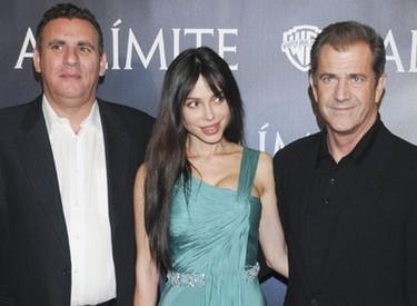 Mel Gibson de visita por Madrid