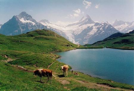 Bachalpsee, el lago más hermoso de Suiza