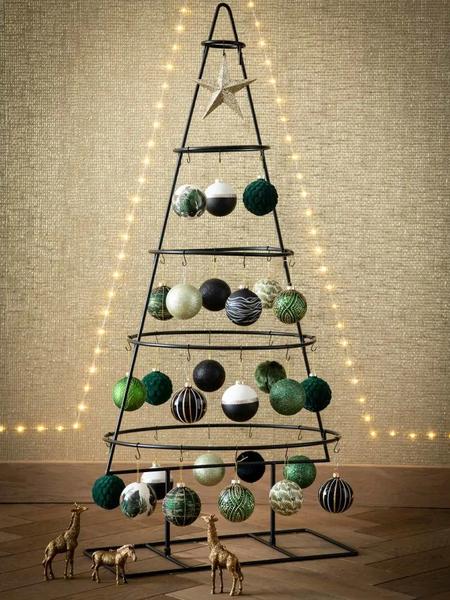 Árbol de Navidad estilo industrial
