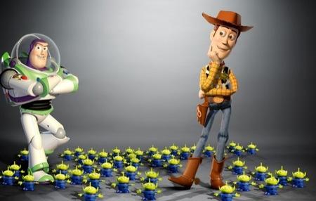 Toy Story en en el 20 aniversario de Empire: hombres con estilo