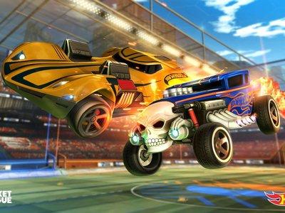 Rocket League refuerza su concesionario con los míticos coches de Hot Wheels