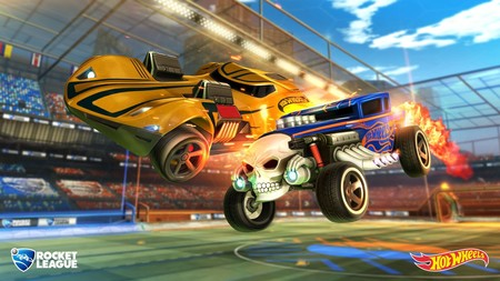 Rocket League refuerza su concesionario con los míticos coches de Hot Wheels
