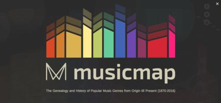 Musicmap o cómo relacionar cientos de estilos musicales en un mapa interactivo