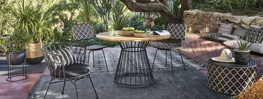 21 mesas de exterior de Maisons du Monde de distintos materiales, precios y estilos