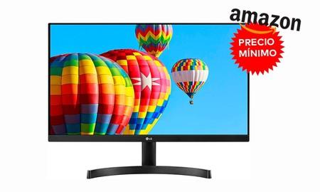 LG 24MK600M-B: un completo monitor para trabajar que hoy te puedes llevar a precio mínimo en Amazon, por menos de 100 euros