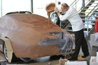¿Como queda un Porsche 911 con 175 kilos de chocolate encima?
