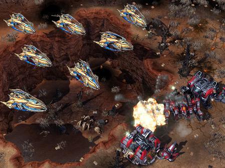 Blizzard desvela una nueva unidad Protoss: El Portanaves