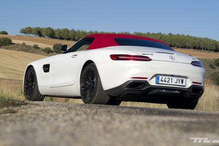 Mercedes-AMG GT Roadster, prueba