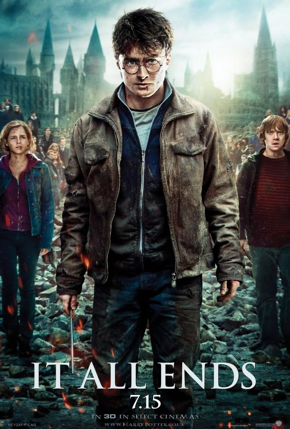Foto de 'Harry Potter y las reliquias de la muerte. Parte II', nuevo y espectacular tráiler y carteles (6/21)