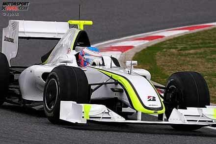 El Brawn GP impresiona en su debut en Montmeló